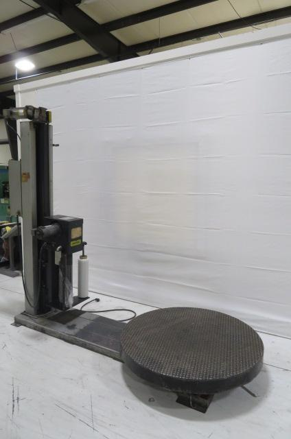 Liberty Industries Used 500S Rotary Pallet Stretch Wrapper, 110V