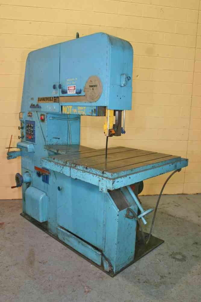 """36"""" TANNEWITZ MODEL #3600 MH VERTICAL BANDSAW: STOCK #10952"""