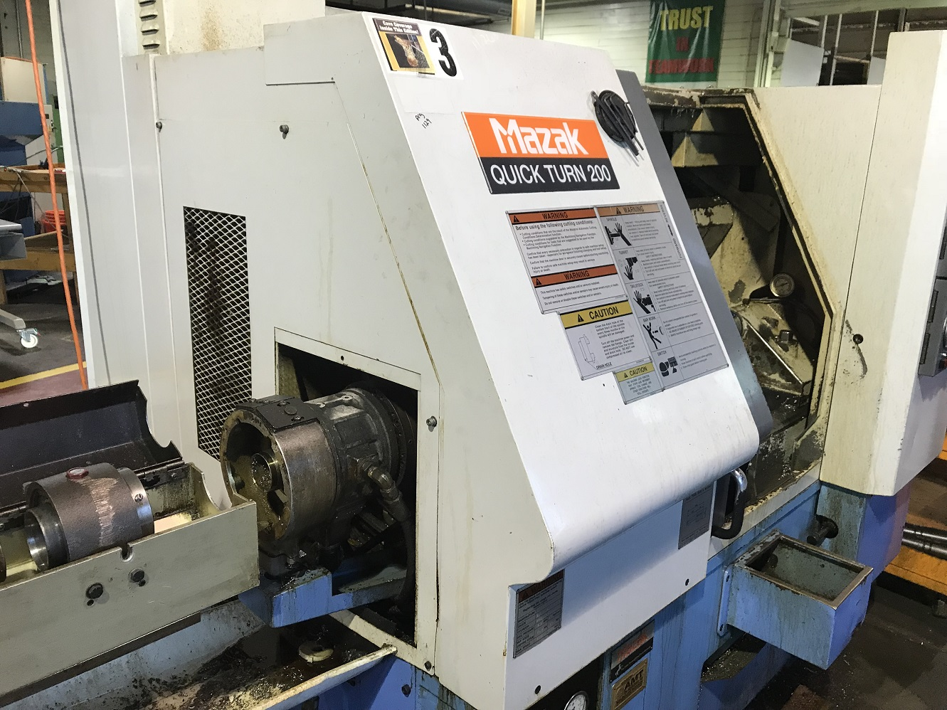 MAZAK QUICK TURN 200