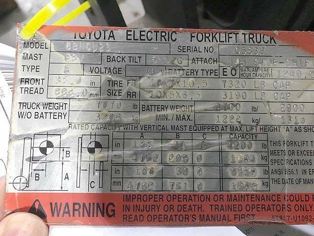 Toyota / Raymond Fork Lift Traction Amplifier PN 6670010-00