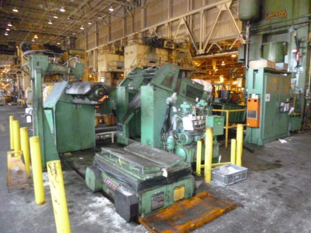 """48"""" x 40,000# Littell Coil Feed Line"""