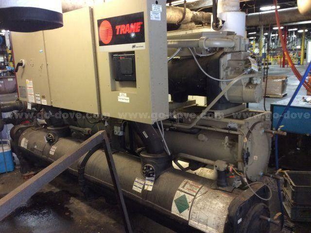 80 TON TRANE MODEL #RTWD 080F WATER COOLED ROTARY CHILLER: STOCK #13815