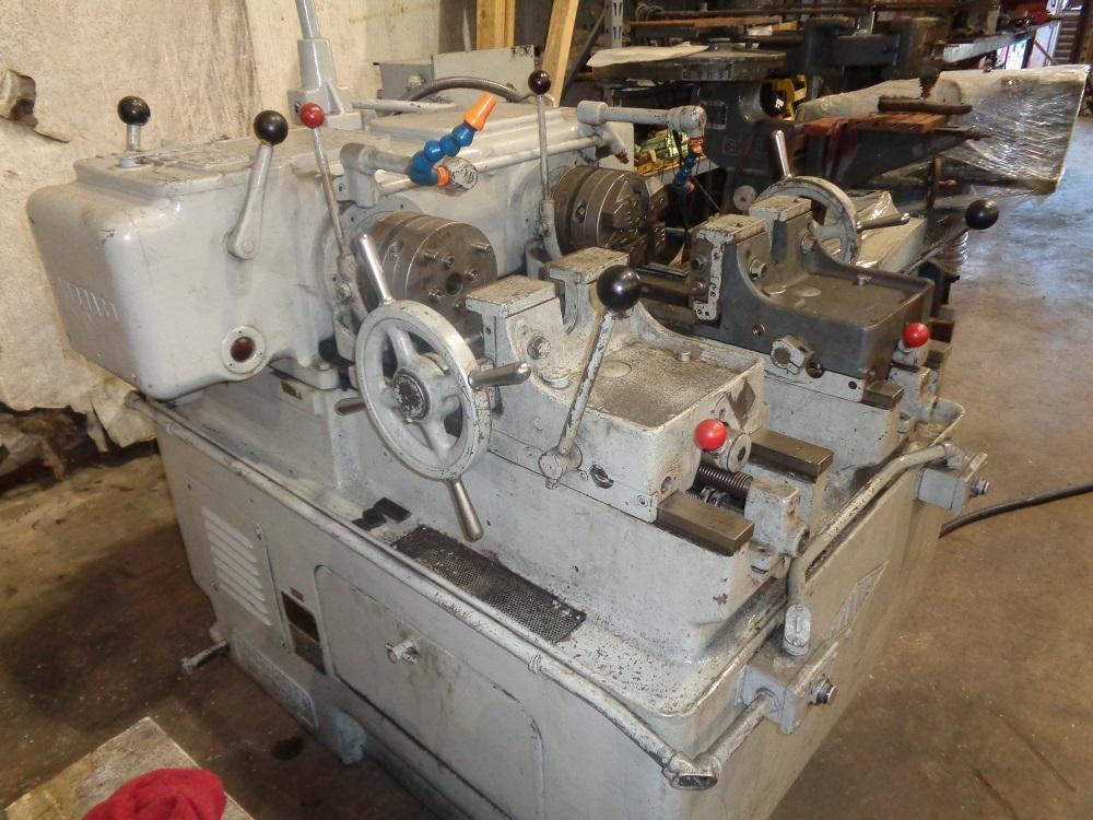 "USED, LANDIS MODEL 8C 1"" DOUBLE SPINDLE THREADING MACHINE"