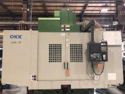 2000 OKK VM-7 w/Pallet Changer - Vertical Machining Center