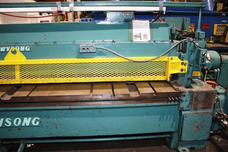 "1/4"" x 12 ft Wysong Mechanical Power Shear Model 1225"