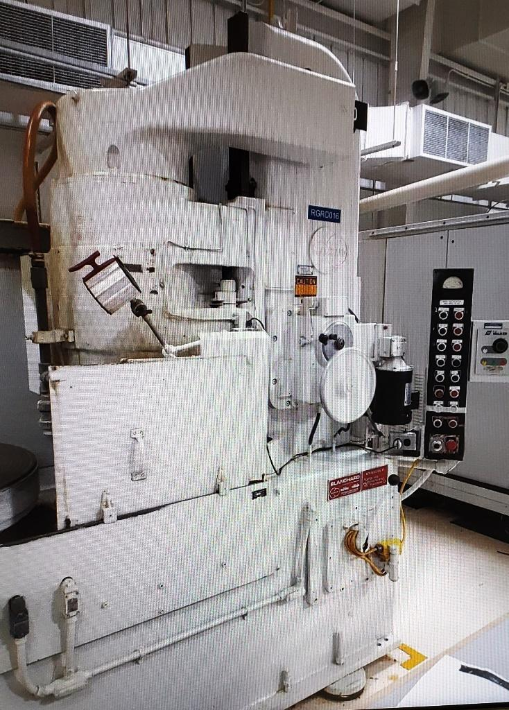 "Used Blanchard 20D-36 Vertical Rotary Surface Grinder, '81, ""Certified"""