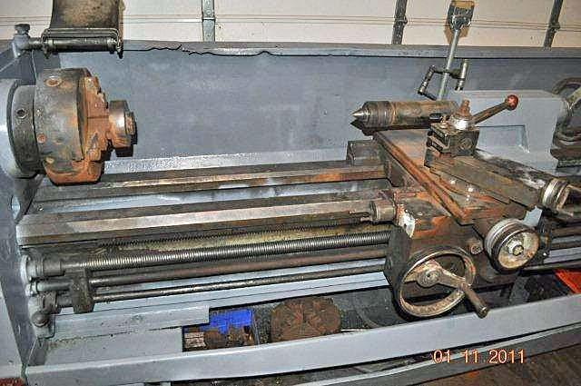 "Clausing 17"" Swing x 120"" Centers ENGINE LATHE"