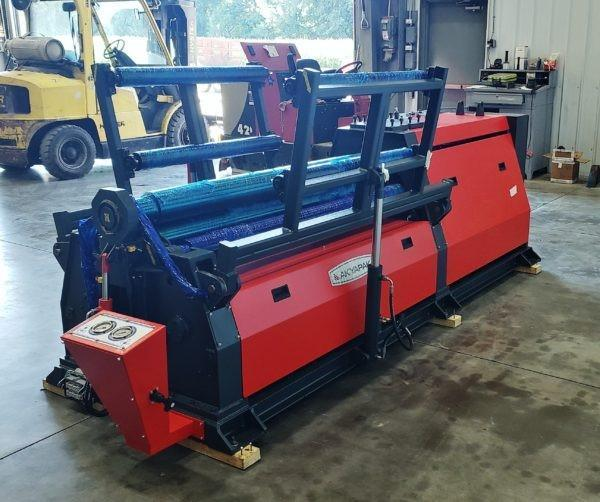 """5' x 1/4"""" Four Roll Hydraulic Plate Bending Roll"""