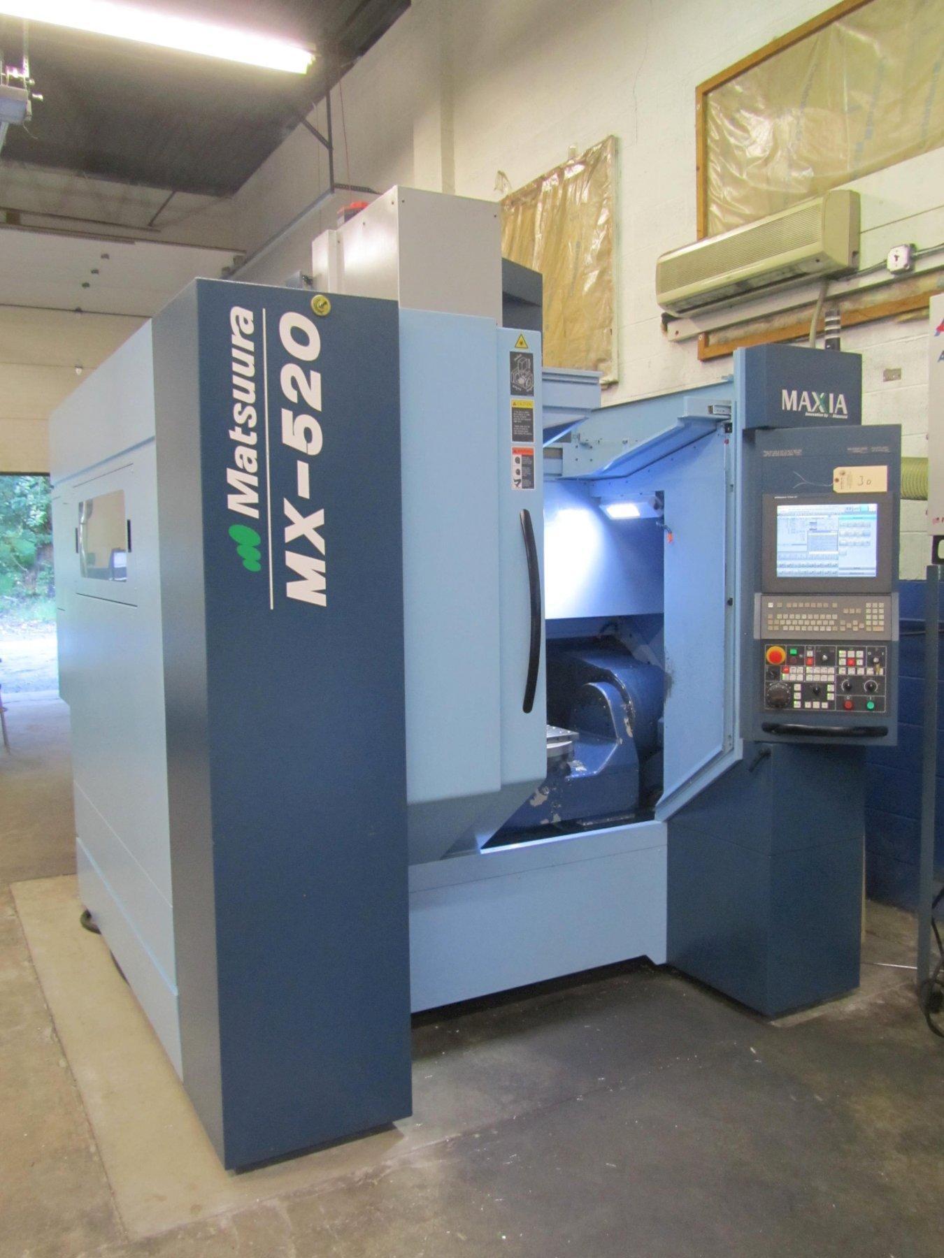 MATSUURA MX-520 5-AXIS CNC VERTICAL MACHINING CENTER