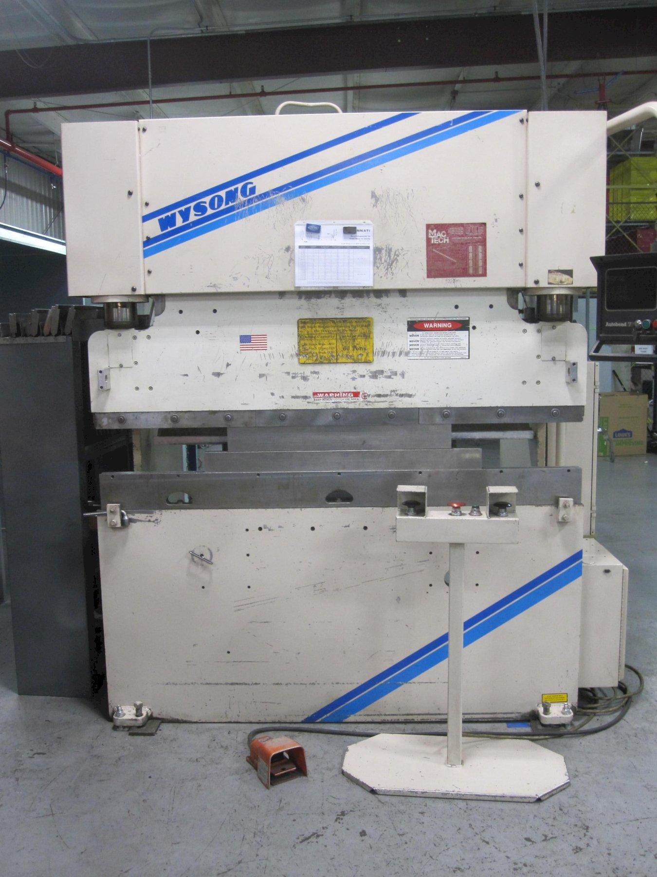 Wysong CNC Press Brake
