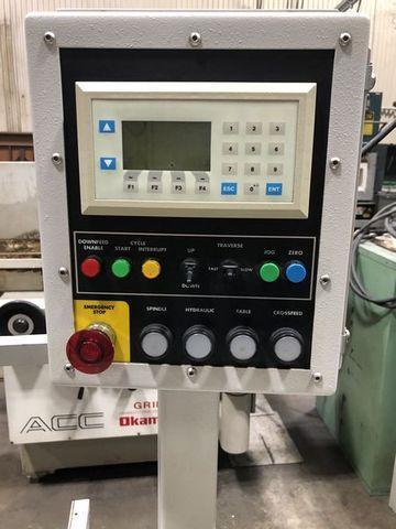 2008 HARIG AUTOSTEP GRINDER WITH DIGITAL READOUT, PROGRAMMABLE PLUNGE OR SURFACE GRINDING