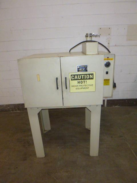 550 Deg F Greive Model NB-550 Forced Convection Oven Mounted on Stand