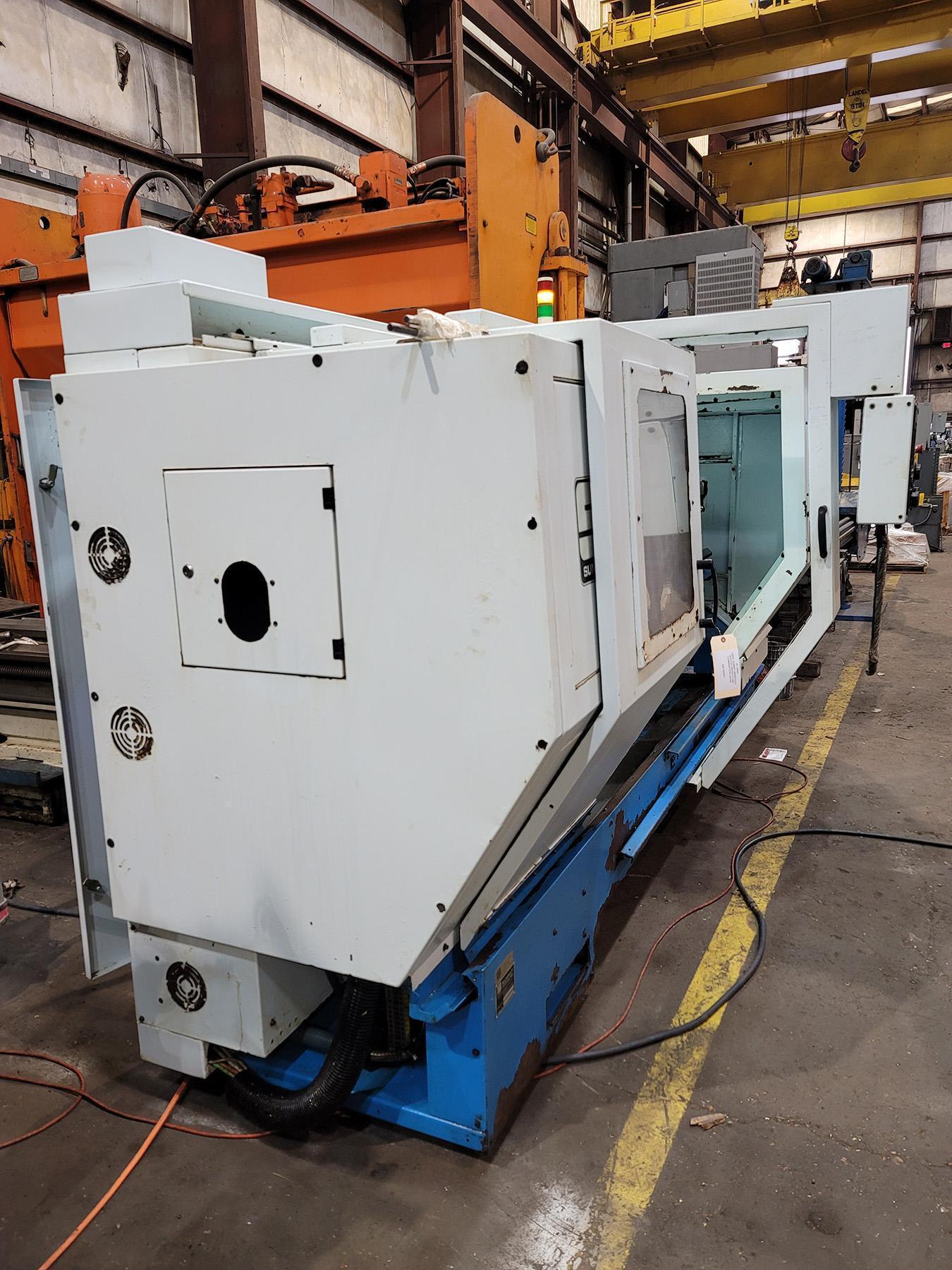 USED, SUMMIT SMARTCUT 24-4 X 80 SERIES II CNC COMBINATION LATHE