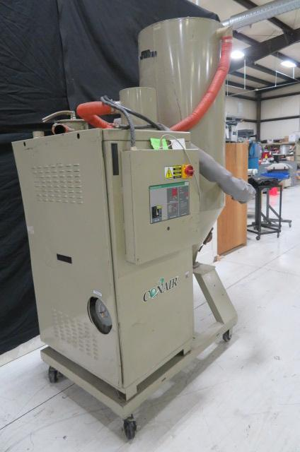 Conair Used CS101 Material Dryer, Desiccant, 480V, Approx 75 to 150 lbs/ hr
