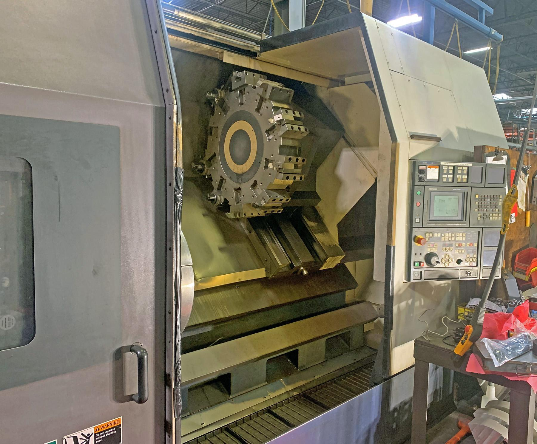 USED, MORI SEIKI SL-600B/1000 CNC TURNING CENTER