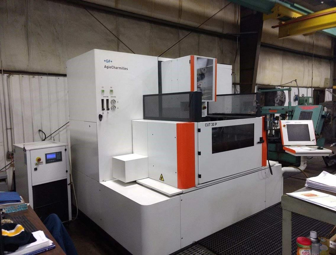 Agie Charmilles CUT30P CNC Wire EDM, Windows Based CNC, 24
