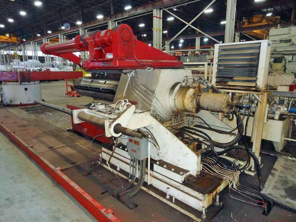 "72"" x 0.250"" x 50,000# Cincinnati / Voss Cut To Length Line"
