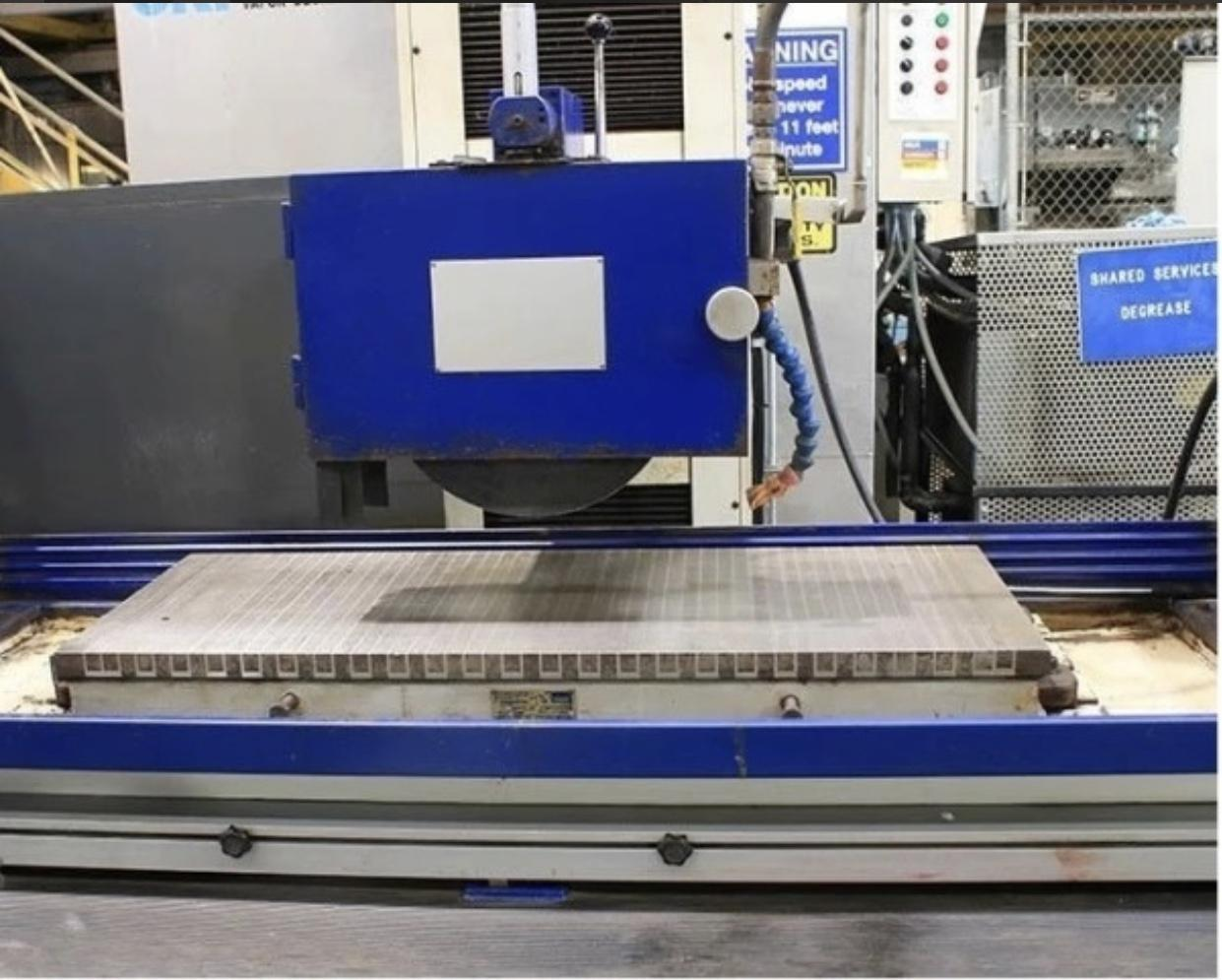 """16"""" x 40"""" CLAUSING """"EQUIPTOP"""" 3-AXIS AUTOMATIC SURFACE GRINDER 2005"""