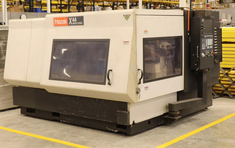 "MAZAK Super Turbo X 44 Laser Cutting System, 50""X, 50""Y, 5.5""Z, Mazatrol Preview CNC, 2007"