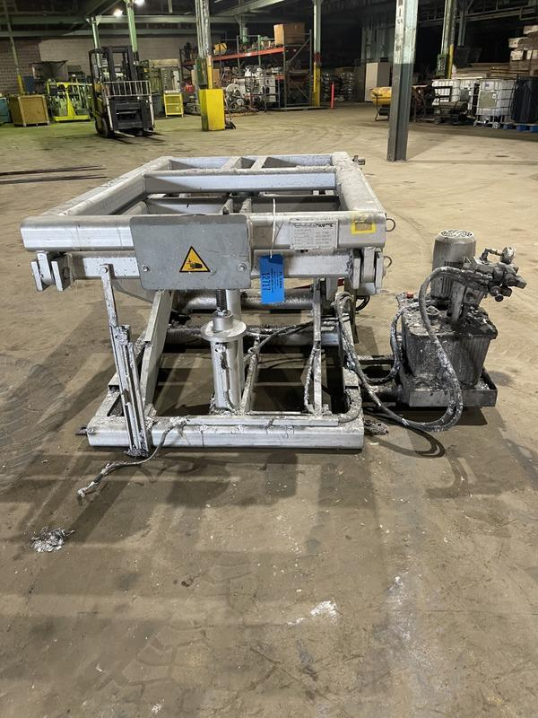 Die lift table for furnace priced with 12715
