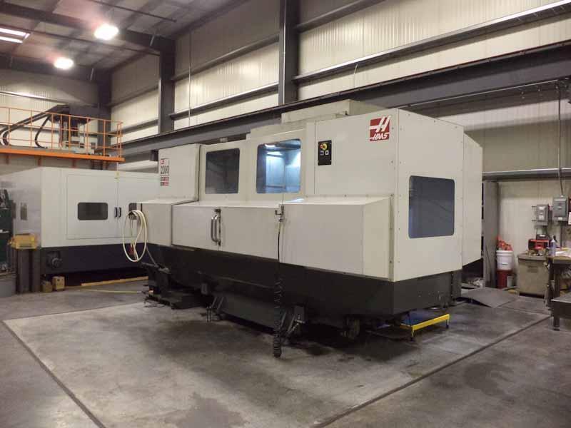 Haas Model EC-2000 4-Axis Horizontal Machining Center