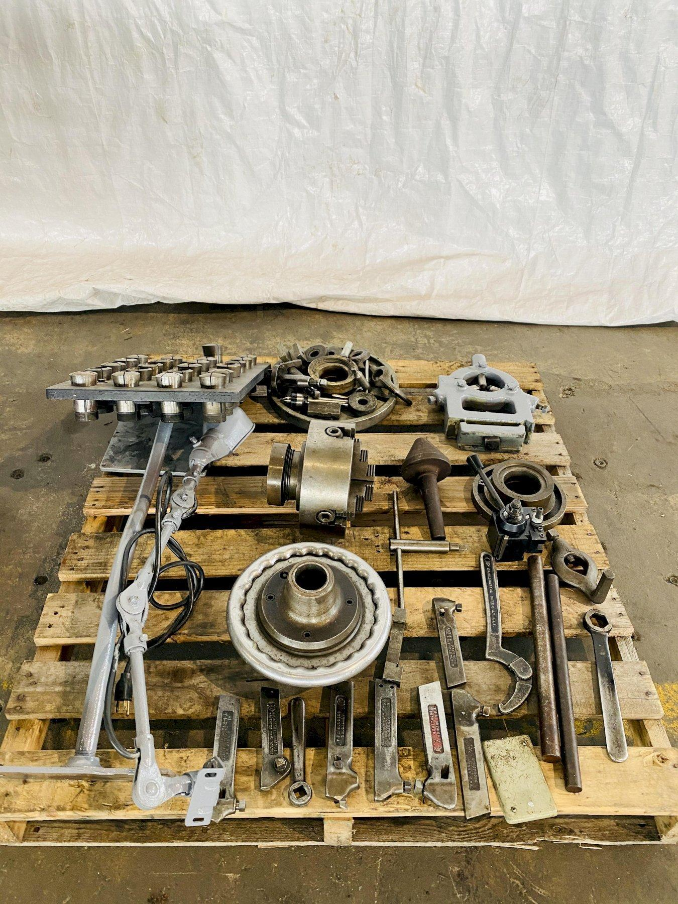 "15"" X 36"" CINCINNATI TRAY TOP ENGINE LATHE. STOCK # 0618020"