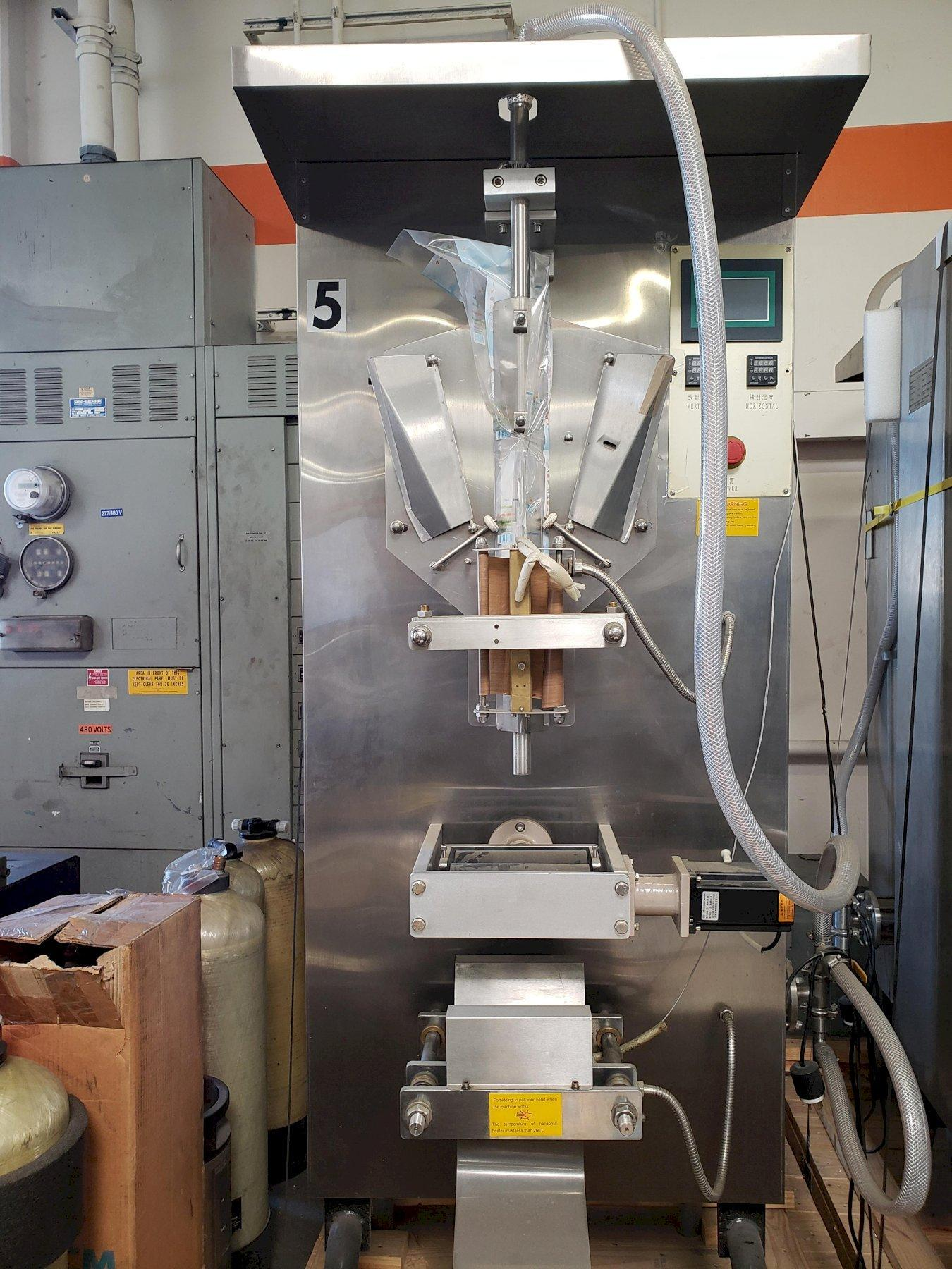 Penglai Machines Liquid Pouch Filling Machine Model# YX-LP1000 2017