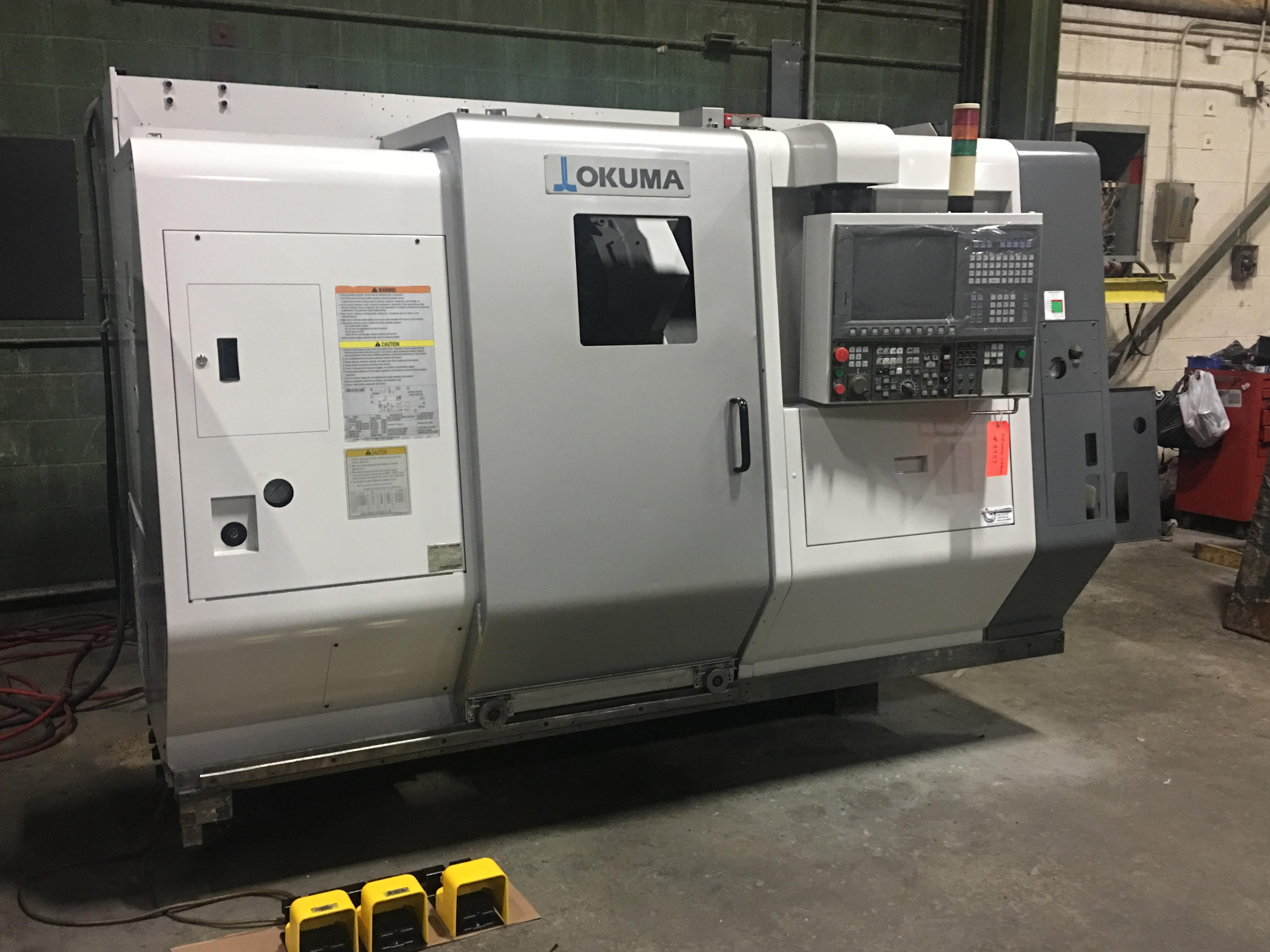 Okuma LU300 CNC Lathe