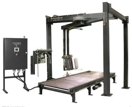 "30"" x 42"" WULFTEC MODEL #WCRT 175 AUTOMATIC ROTARY ARM STRETCH WRAPPING SYSTEM: STOCK #14098"