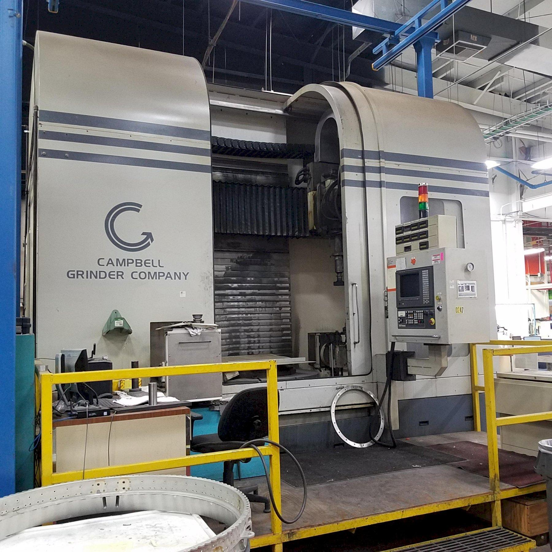 "36"" CAMPBELL MODEL #RGC-6062-36S CYLINDRICAL VERTICAL SPINDLE 3-AXIS GRINDER: STOCK #12437"