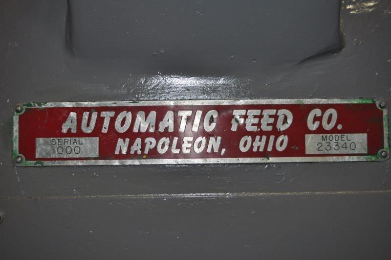 """4000 LB x 40"""" Automatic Feeds Motorized Uncoiler"""