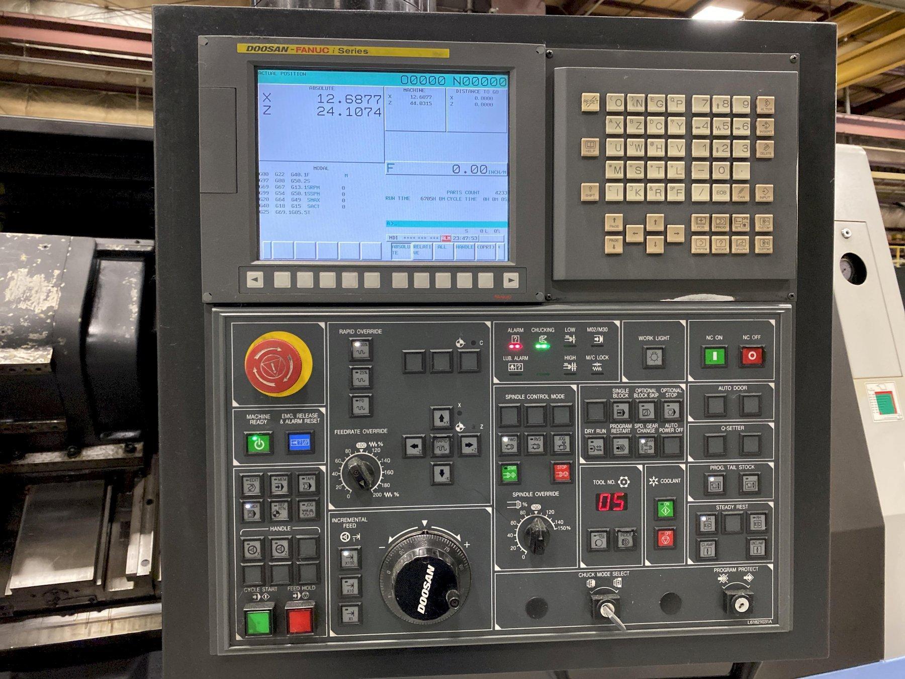 2011 Doosan Puma 400LB CNC Horizontal Lathe