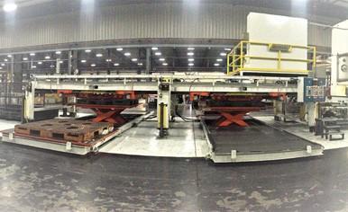 """72"""" x 80"""" x 25,000# Atlas Technologies Blank Stacker"""