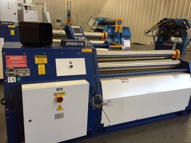 "New 3.15"" x 5 ft, Americor Plate Bending Roll, Model 3RSP 80/5"