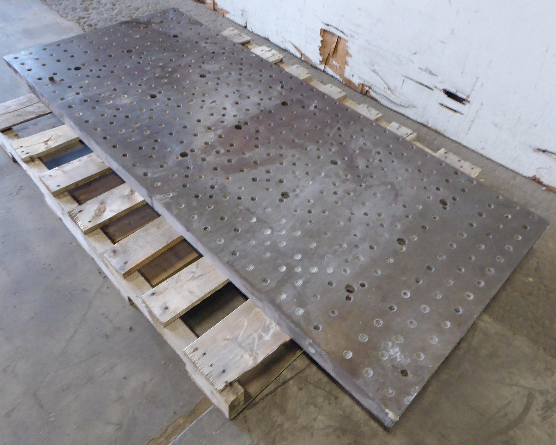 "28"" x 65"" x 2"" Sub Plate, Drilled and Tapped"