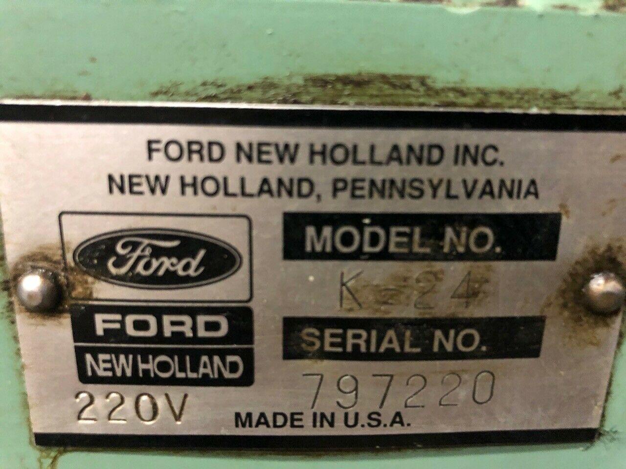 New Holland Model K-24 Chip Wringer