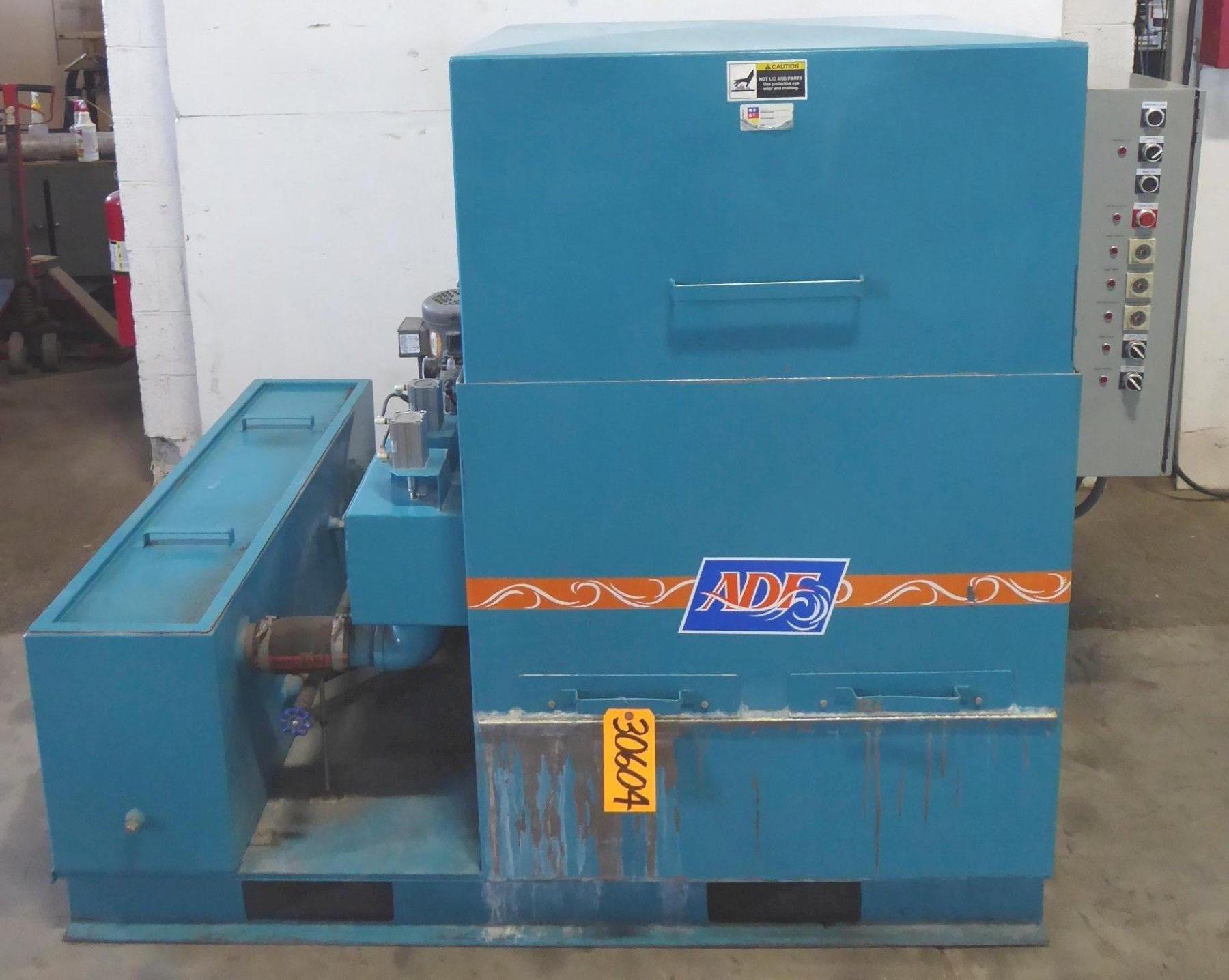 "ADF Top Load Load Low Pressure High Volume Parts Washer, Model 200, 28"" Diameter Turntable, 500 Lb. Capacity, 200 Deg. F, 100 Gallon Tank, 3 HP, 2010"
