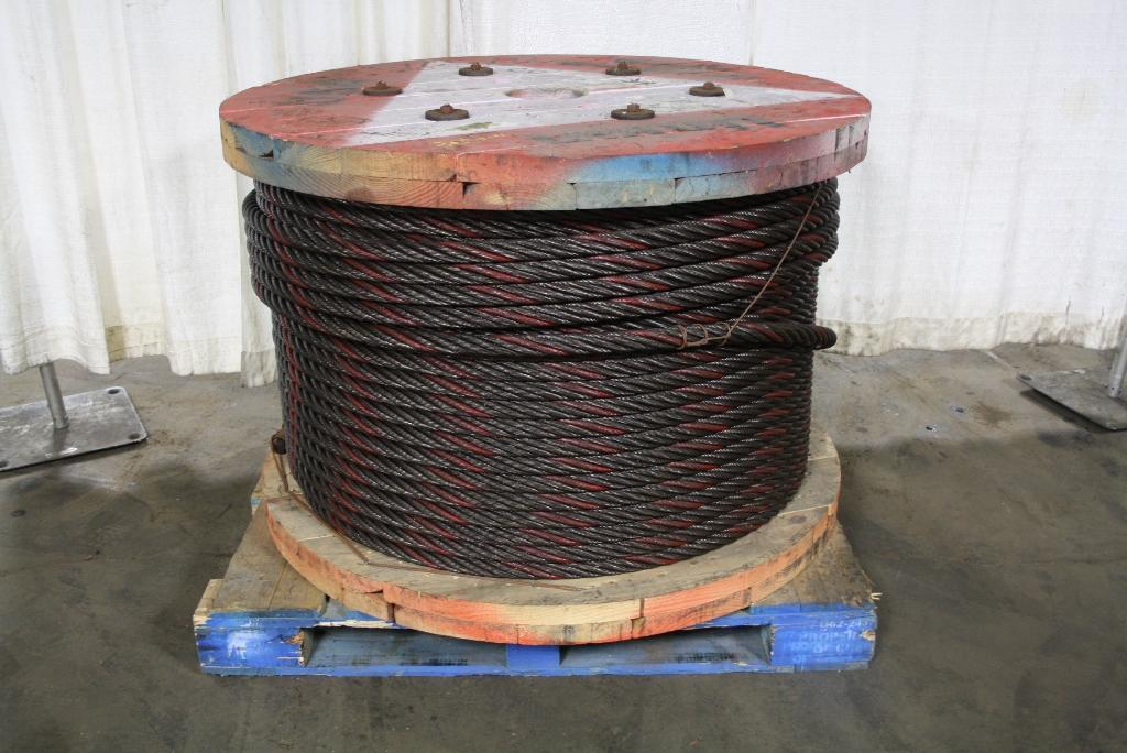 1100' X 1-1/4' WIRE ROPE STOCK #64577