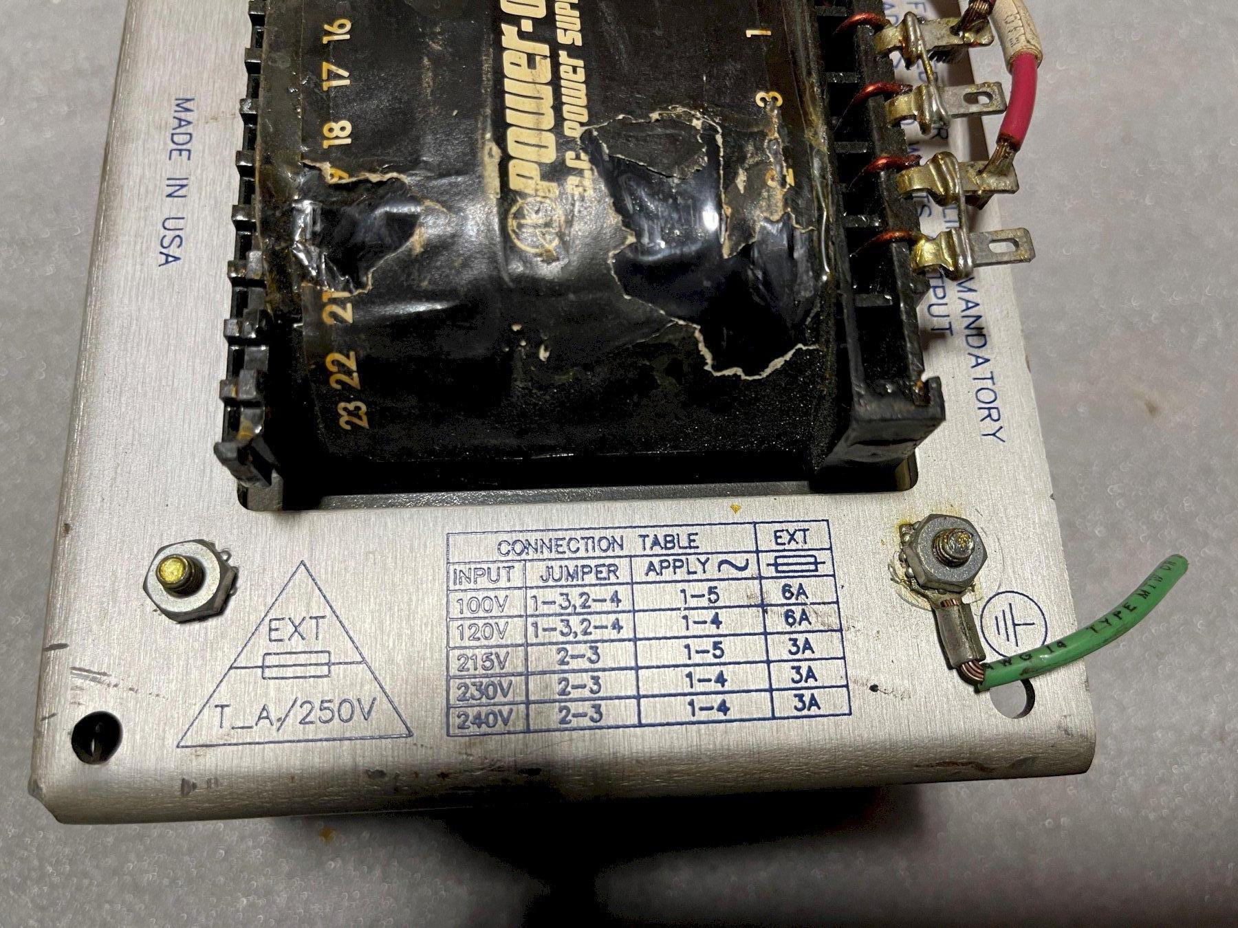 Power Supply F24-12-A