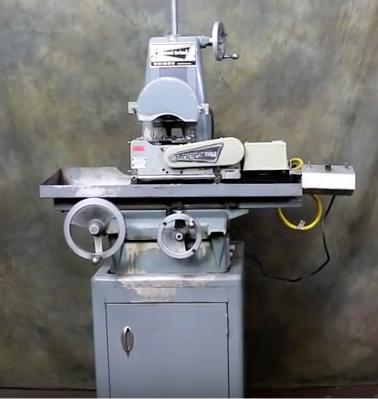 Unison Dedtru Centerless Grinding Machine Harig Machine Base Model: 612 S/N: 5977 Mfg: 1972