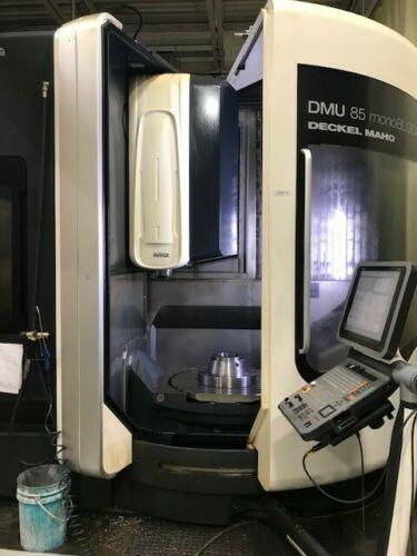 DMG DMU 85 monoBLOCK CNC Vertical Machining Center