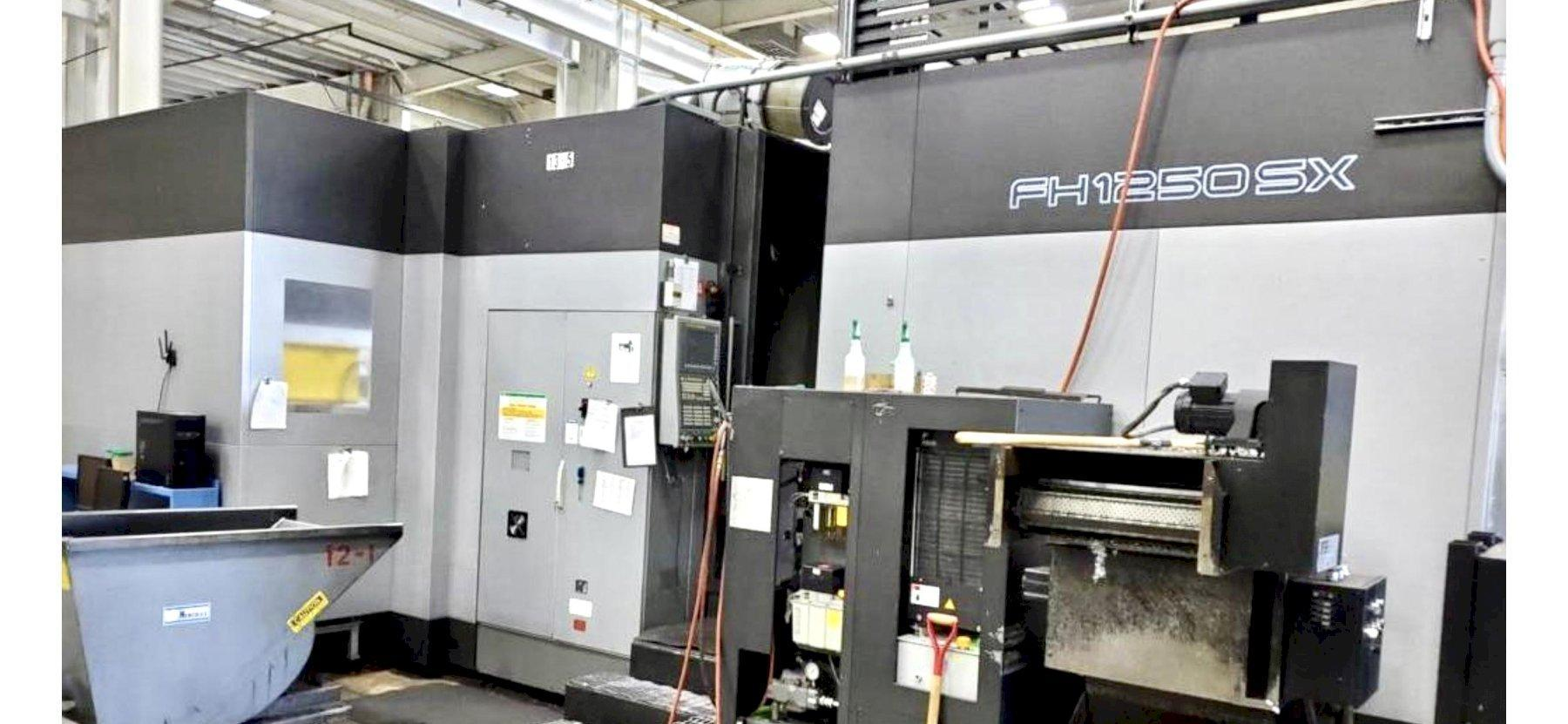 Toyoda FH-1250SX Horizontal Machining Center , Fanuc 310i-Model A Controls, 6K RPM, 