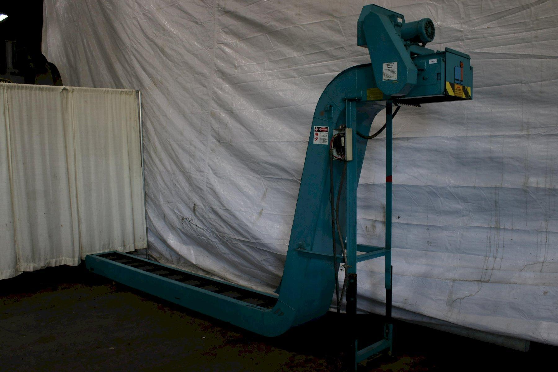 INCLINED CHIP CONVEYOR: STOCK #74300