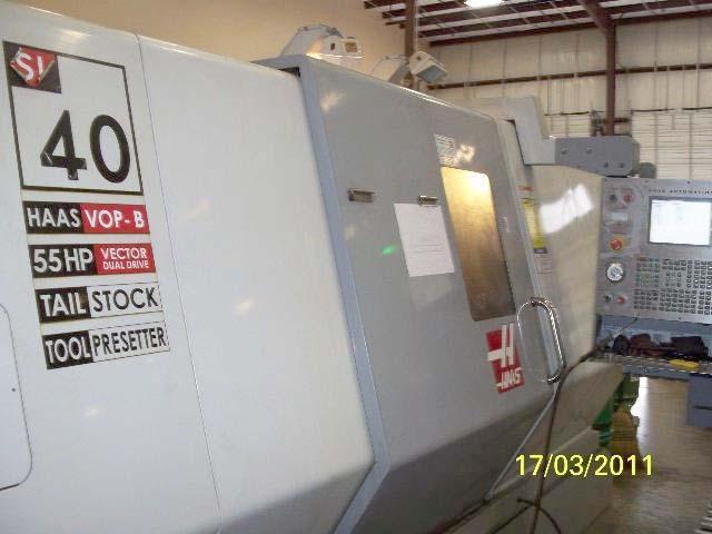2005 Haas SL 40T CNC Lathe
