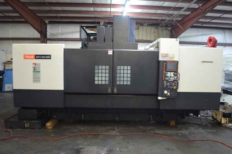 2006 Mazak Mazatech MTV-655/80N CNC Vertical Machining Center