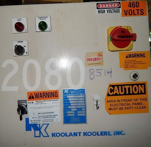 KOOLANT KOOLERS Model HAV-2000-SO-FILT CHILLER