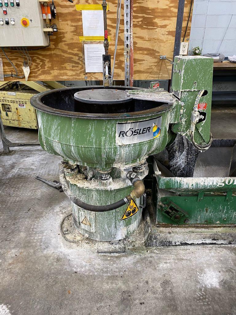 Rosler R/125/50 Vibratory Finisher