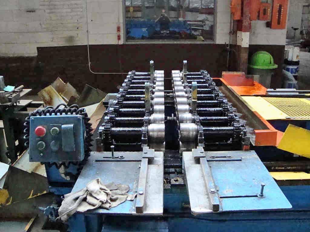 "10 Stand 72.00"" x 1.125"" Lockformer Rollformer"