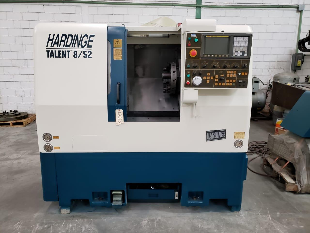 2004 HARDINGE Talent 8/52 - CNC Horizontal Lathe