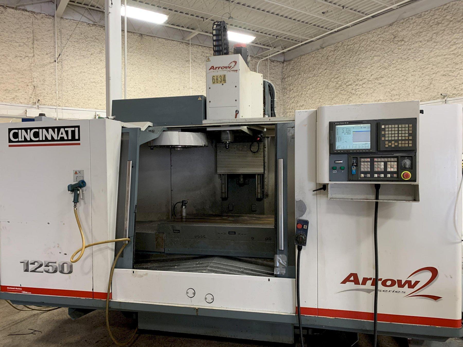 Cincinnati-Milacron Arrow 1250 CNC Vertical Machining Center